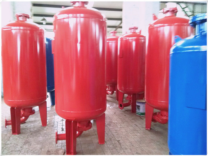 Horizontal Orientation Diaphragm Pressure Tank For Water Supply Equipment